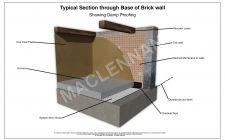 Damp Detail System08 Cob Wall