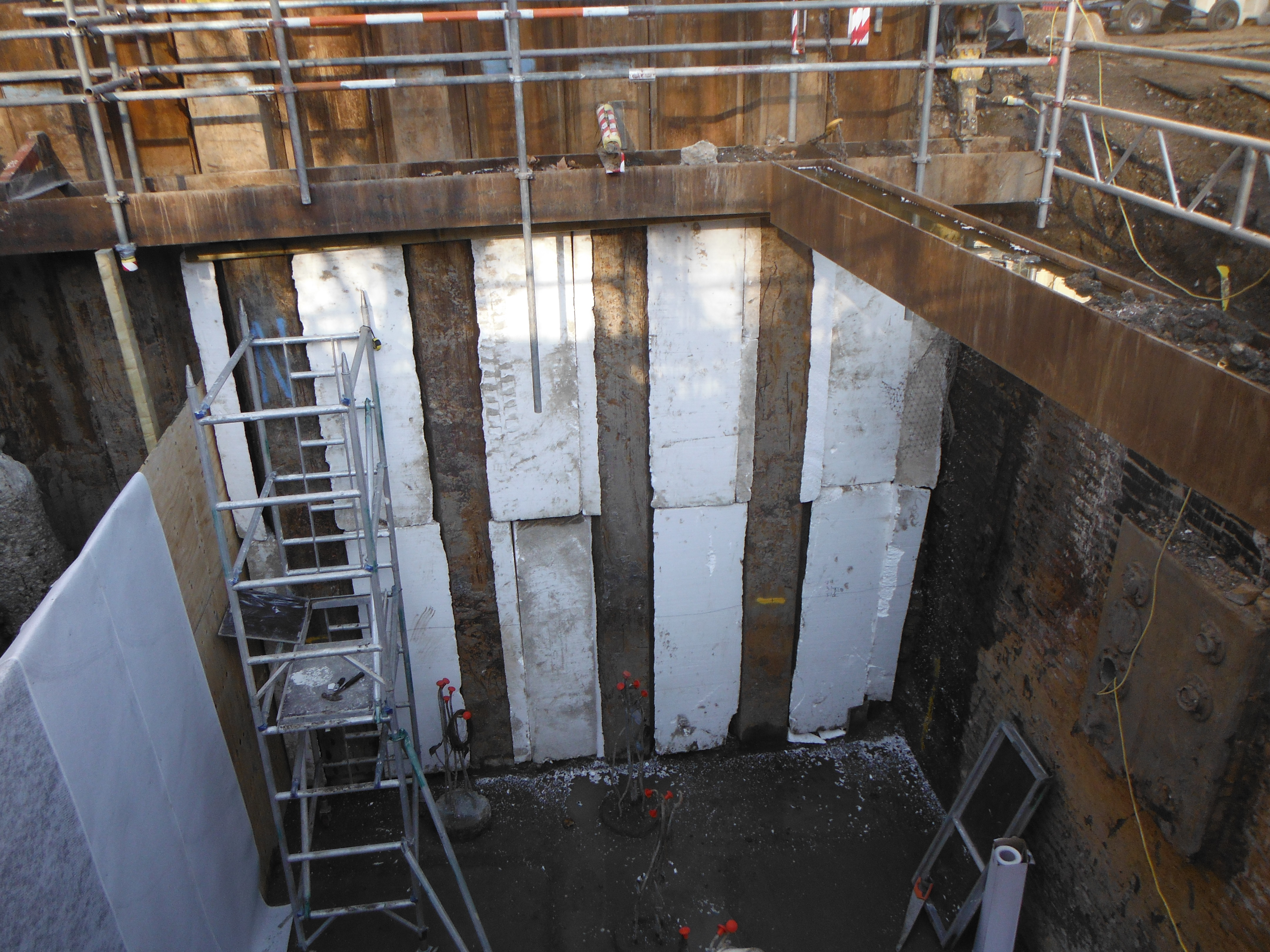 basement waterproofing london case study
