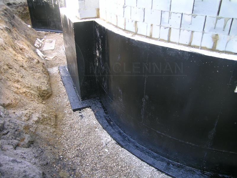 Retaining Wall Waterproofing : Exterior waterproofing basement tanking