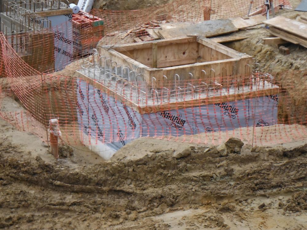 New Build Basement Waterproofing