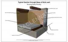 Damp Detail System20 Cob Wall