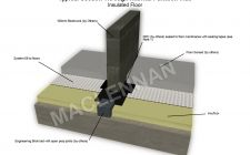 Partition Wall Insulated Floor