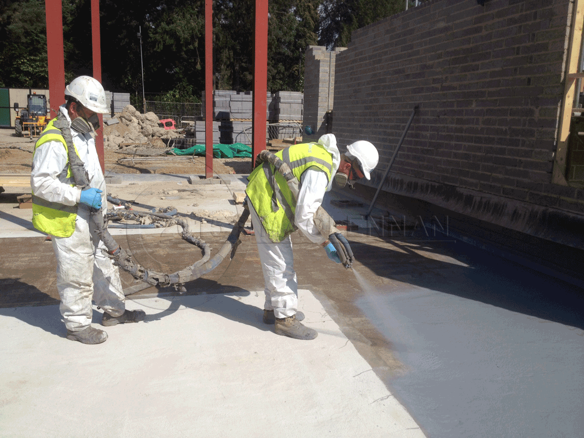 Deck Basement Roof Waterproofing London Polyurea