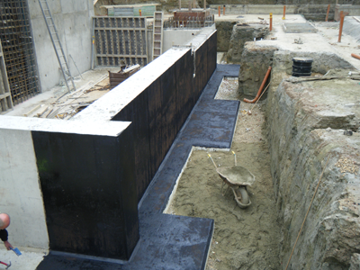 Bituthene Waterproofing Avon Castle Case Study
