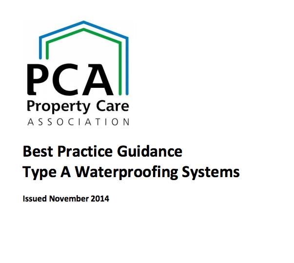 Type A waterproofing guide