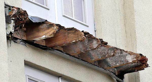 Balcony Rotten Wood