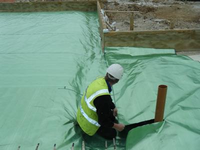 Gas Membrane Waterproofing Cornwall 2