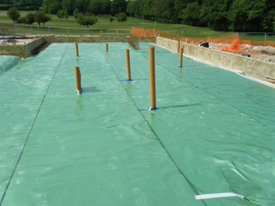 Radon Gas Membrane Waterproofing, Cornwall
