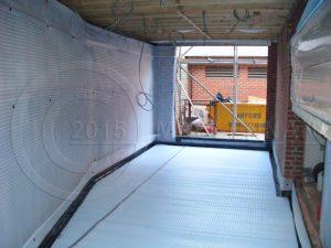 Maclennan cavity drain system instaltion london