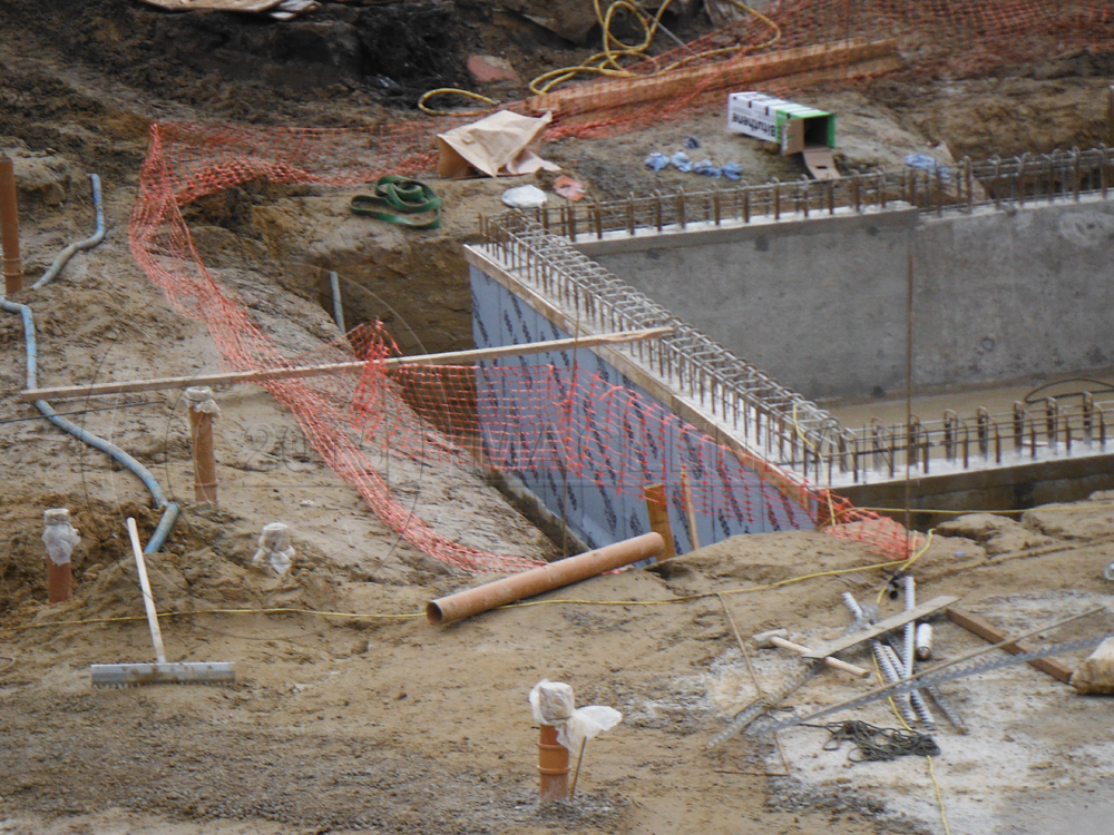 New Build Basement Waterproofing Country House Surrey