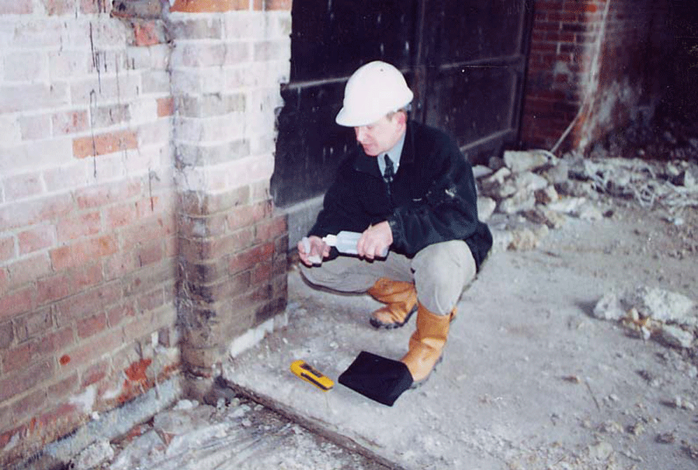 Ian MacLennan Surveying Damp Ingress