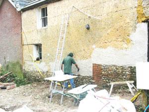 Damp Proofing Older Buildings Ventilated Plaster Lath