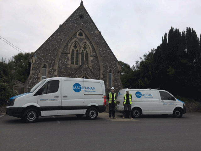 damp proofing united reform church