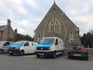Damp Proofing Contractors at Historic Building