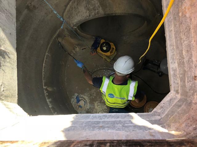 Weymouth training tunnel photo
