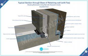 Base-of-Retaining-wall