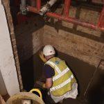 Waterproofing lift pit