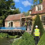 Waterproofing listed Mill house Swindon