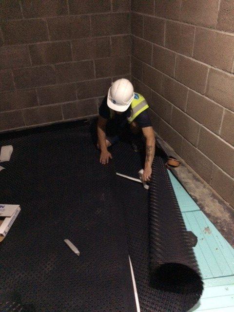Waterproofing floors Exeter