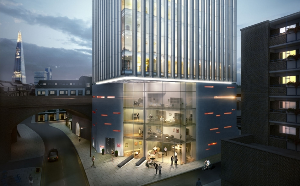 Artists rendering of The Music Box completed