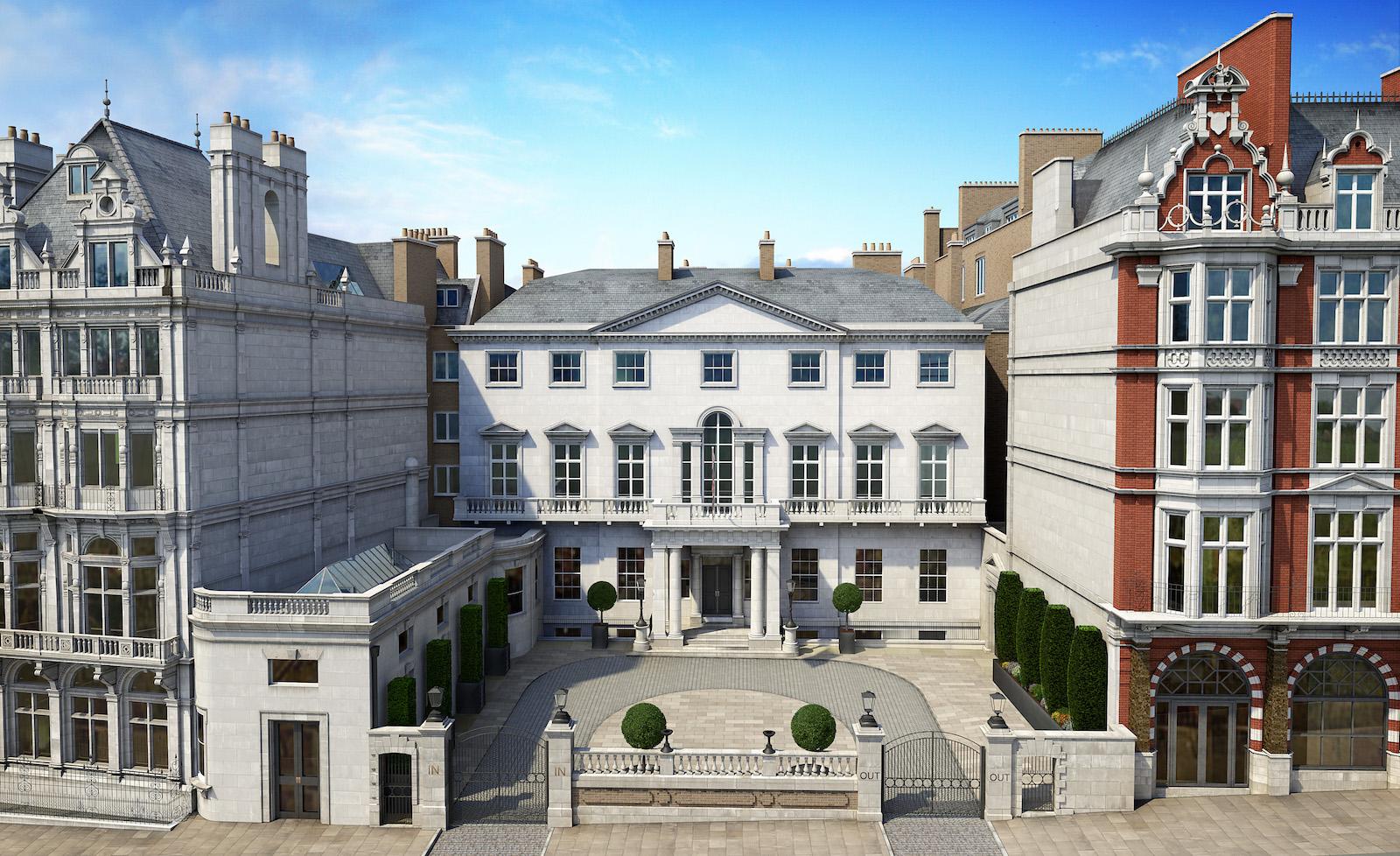 Cambridge House Front Elevation, PDP London