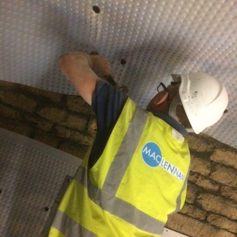 Waterproofing listed building in Bath